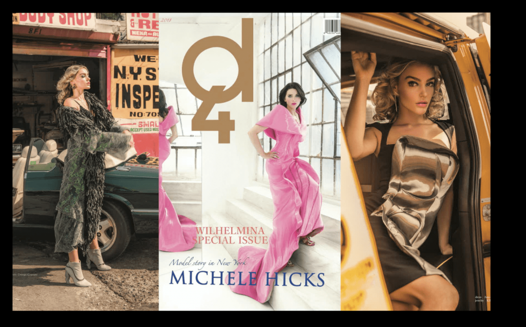 D4 Magazine Vol.4 - Michele Hicks & Georgia Gibbs