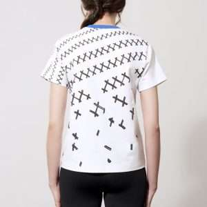 Cotton t-shirt, printed details