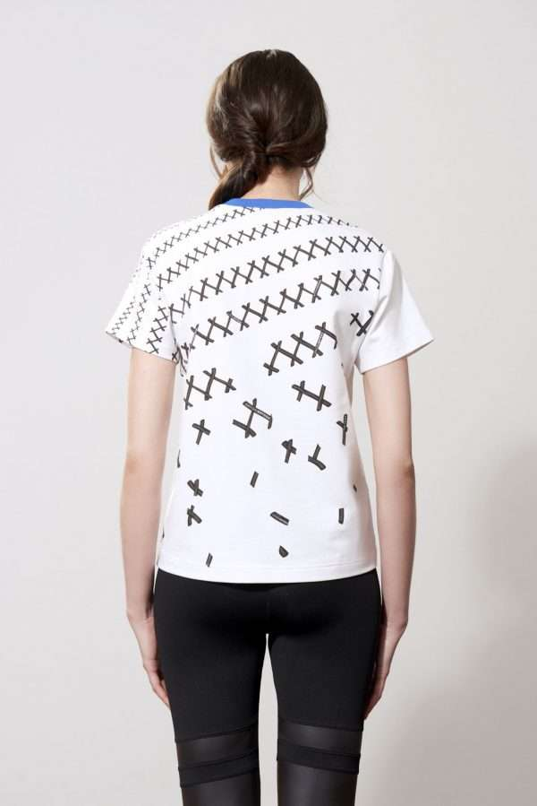 Cotton t-shirt, printed details