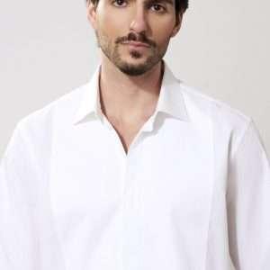 Italian cotton long sleeves shirt